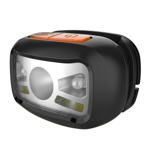 PLATINET HEAD LAMP (RECHARGEABLE 800mAh 3W 90LM) black
