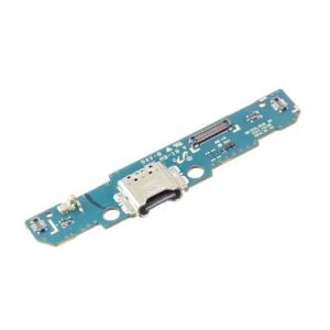 Lanksčioji jungtis Samsung T510 / T515 Tab A 10.1 2019 su įkrovimo kontaktu, mikrofonu originali (service pack)