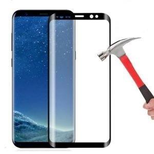 LCD apsauginis stikliukas  5D Full Glue  Samsung G770 S10 Lite lenktas juodas be įpakavimo