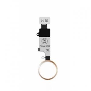 Lanksčioji jungtis iPhone 7 / 7 Plus / 8 / 8 Plus HX ShaLou HOME mygtuko auksinis