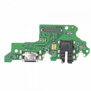 Lanksčioji jungtis Huawei P Smart Z įkrovimo kontakto su mikrofonu originali (service pack)