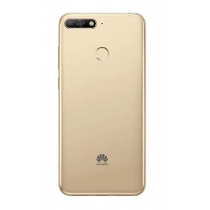 Galinis dangtelis Huawei Y6 Prime 2018 auksinis originalus (used Grade B)