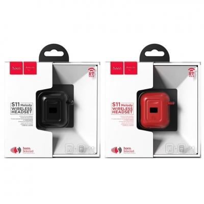Bluetooth ausinės HOCO S11 Melody juodos