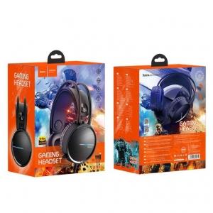 Laisvų rankų įranga HOCO W100 Touring Gaming juoda