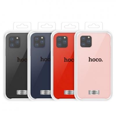 Dėklas  Hoco Pure Series  Apple iPhone 11 Pro rausvas (pink)