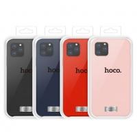 Dėklas  Hoco Pure Series  Apple iPhone 11 raudonas