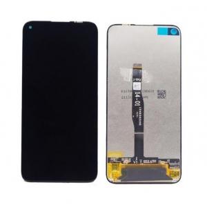 Ekranas Huawei P40 Lite / Nova 6 SE / P20 Lite 2019 / Nova 5i su lietimui jautriu stikliuku juodas ORG
