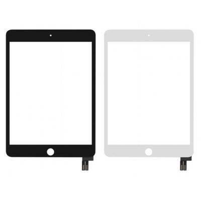 Lietimui jautrus stikliukas iPad mini 2019 (mini 5 / A2133 / A2124 / A2125 / A2126) baltas HQ