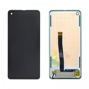 Ekranas Samsung G715F Xcover PRO su lietimui jautriu stikliuku juodas originalus (service pack)