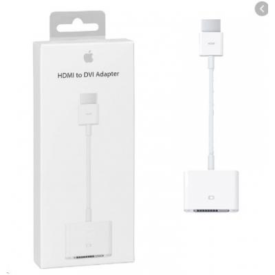 Adapteris Apple iš DVI į HDMI (MJVU2ZM / A) originalus pakuotėje