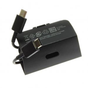 USB kabelis originalus Samsung S20, Note 10 Type-C (EP-DG980) juodas (1M)