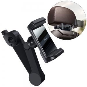 Automobilinis universalus telefono laikiklis Baseus (Wireless Qi 15 W) tvirtinamas ant sėdynių atlošų