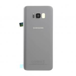 Galinis dangtelis Samsung G955F S8+ sidabrinis (Arctic silver) originalus (used Grade C)
