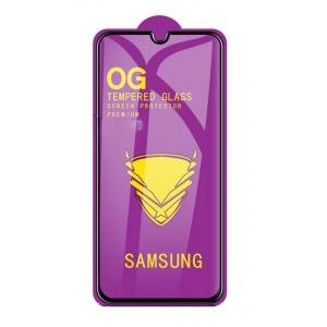 LCD apsauginis stikliukas  11D Full Glue  Samsung A115 A11 / M115 M11 juodas be įpakavimo
