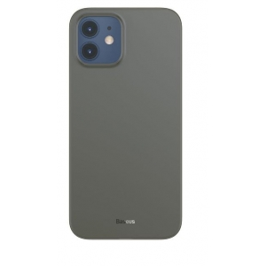 Dėklas Baseus Wing Ultrathin Apple iPhone 12 Mini juodas
