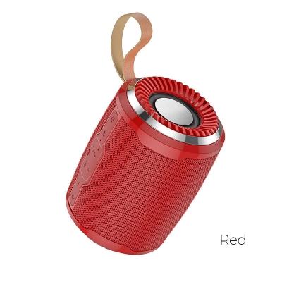 Bluetooth nešiojamas garsiakalbis HOCO BS39 (MicroSD,AUX,FM) raudonas
