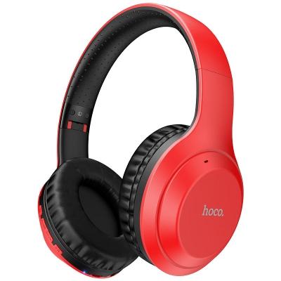 Bluetooth ausinės HOCO W30 raudonos