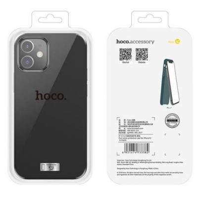 Dėklas  Hoco Pure Series  Apple iPhone 12 Mini juodas