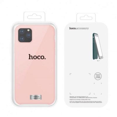 Dėklas  Hoco Pure Series  Apple iPhone 12 Mini rožinis