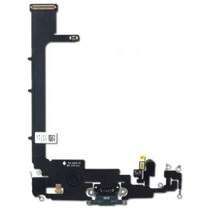 Lanksčioji jungtis Apple iPhone 11 Pro įkrovimo kontaktų, su mikrofonu juoda ORG