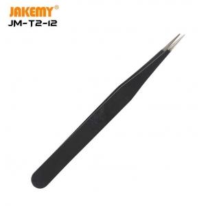 Metalinis antistatinis pincetas Jakemy JM-T2-12 ESD