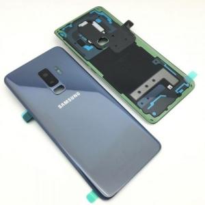 Galinis dangtelis Samsung G965F S9+ mėlynas (Coral Blue) originalus (used Grade B)