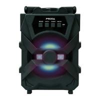 Bluetooth nešiojamas garsiakalbis Proda Xunshen (MicroSD,AUX,FM) juodas