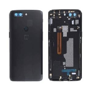 Galinis dangtelis OnePlus 5T juodas (Midnight Black) originalus (used Grade B)