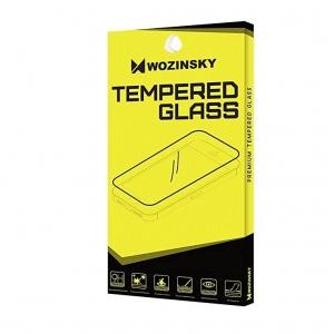 LCD apsauginis stikliukas  Wozinsky 5D Full Glue  Samsung A726F A72 pritaikytas dėklui juodas