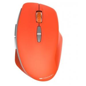 Pelė CANYON CNE-CMSW21 belaidė oranžinės spalvos