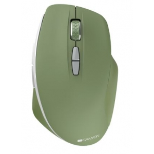 Pelė CANYON CNE-CMSW21 belaidė žalios spalvos