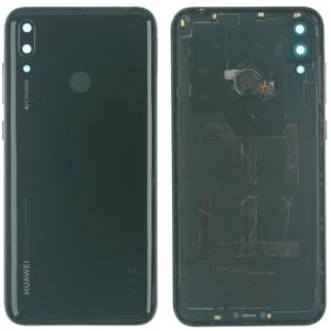 Galinis dangtelis Huawei Y7 2019 juodas originalus (used Grade C)