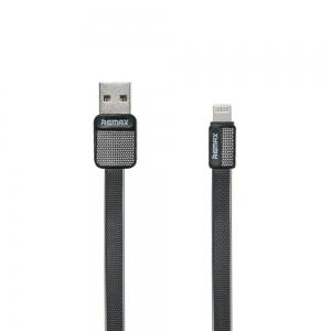USB kabelis REMAX Platinum lightning 1m (2.1A) juodas