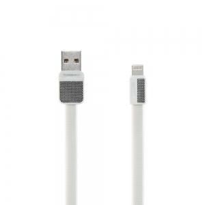 USB kabelis REMAX Platinum lightning 1m (2.1A) baltas