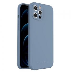Dėklas Wozinsky Color Case Silicone Apple iPhone 12 mėlynas