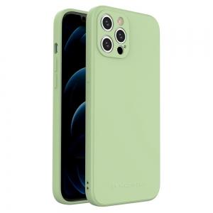 Dėklas Wozinsky Color Case Silicone Apple iPhone 12 žalias