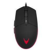 Pelė VARR Gaming laidinė + kilimėlis (295x210x2mm) juodos spalvos