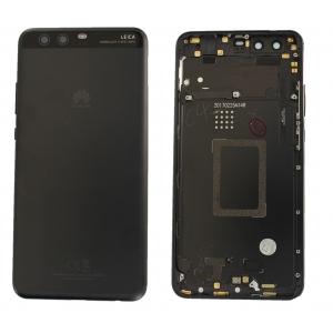Galinis dangtelis Huawei P10 Plus juodas originalus (used Grade C)