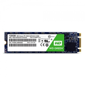 Kietasis diskas SSD WD Green 120GB (6.0Gb / s) SATAlll M.2