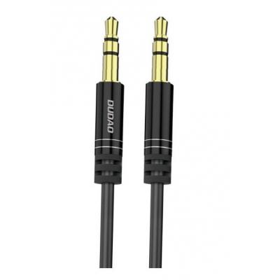 Audio adapteris Dudao L12 3,5mm į 3,5mm (p-p) juodas