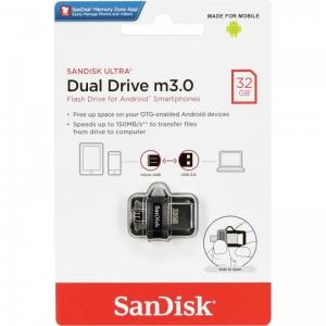 Atmintinė SanDisc Ultra Dual Drive 32GB USB 3.0