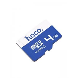 Atminties korta Hoco MicroSD 4GB (class6)