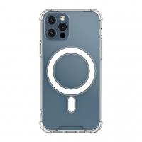 Dėklas Clear Magnetic (MagSafe) Apple iPhone 12 Mini skaidrus