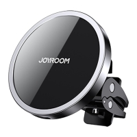 Belaidis įkroviklis-laikiklis Joyroom Magnetic (15W MagSafe Compatible) juodas