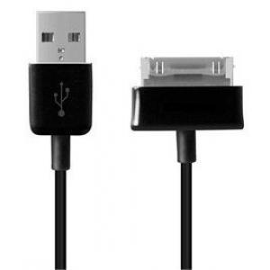 USB kabelis ORG Samsung P1000 Tab ECC1DP0UBE N8000 / P3100 / P3110 / P5100 / P5110 / P5200 / P6200 / P6800 / P7300 / P7500 / P7510 ORG (1M)