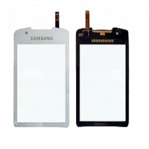 Lietimui jautrus stikliukas Samsung S5620 Monte baltas HQ