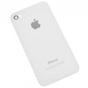 Galinis dangtelis iPhone 4G baltas