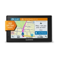 Garmin Drivesmart 50LM GPS navigacija su nemokamais žemėlapių atnaujinimais (naudota)